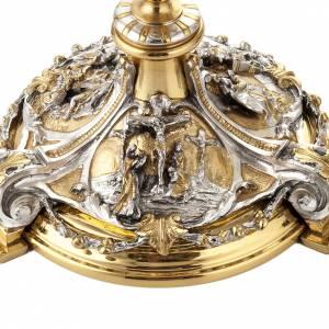 Metall Kelchen, Patenen, Ziborium: Kelch Silber Ziborium Ankuendigung Kreuz Geburtsheit