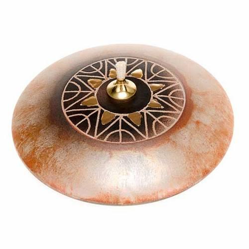 Lampada tonda ceramica s1