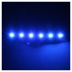 Led a strisce a 6 led cm 0,8x8 cm blu per Frisalight s2
