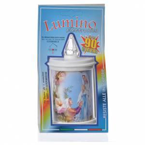 LED votive candle, white, lasting 90 days s4