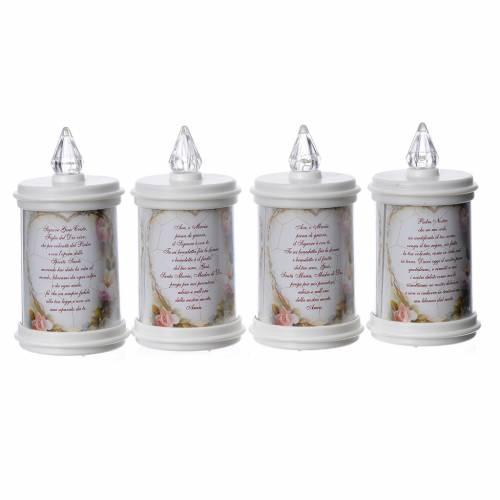 LED votive candle, white, lasting 90 days s3