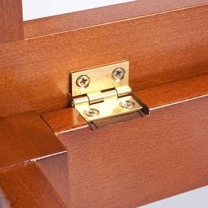 Leggio legno con scanalature s4