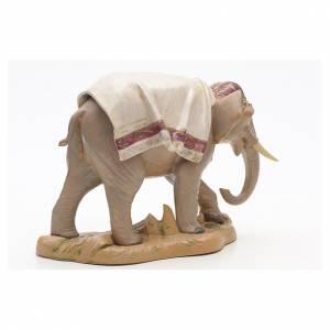 Éléphant debout crèche Fontanini 19 cm s3