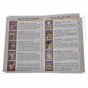 Libretto con rosario First Holy Communion INGLESE s4