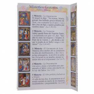 Libretto Il santo Rosario in spagnolo s4
