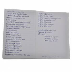 Libretto Santo Rosario san Giovanni XXIII 6,5x9,5cm s4