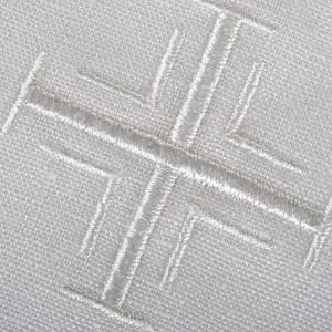 Linges d'autel: Linge d'autel croix 5 pièces