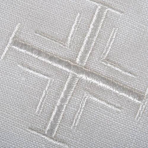 Linge d'autel croix 5 pièces s2