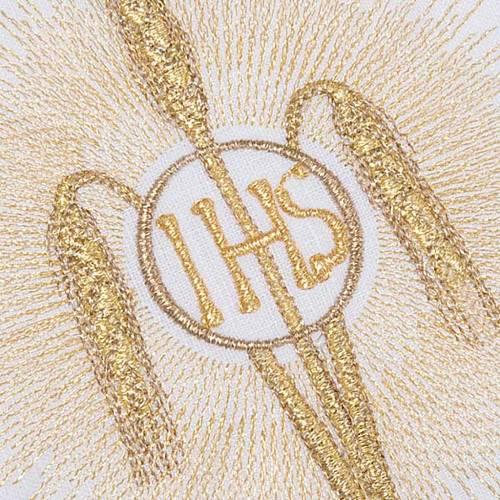 Linge d'autel IHS, rayons et épis set 4 pcs s4