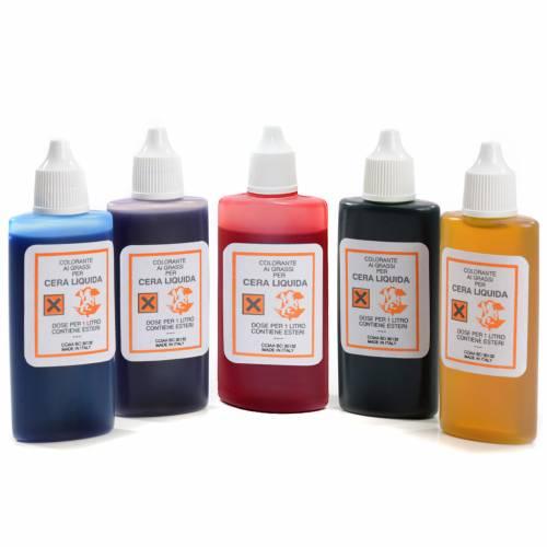 Liquid wax colourings s1