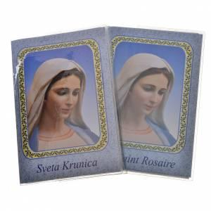 Calendriers et Livres religieux: Livre Saint Rosaire Notre-Dame Medjugorje ITALIEN