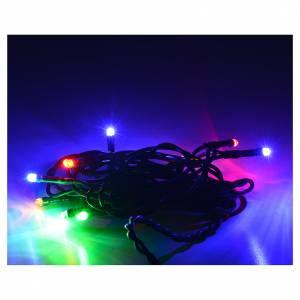 Luminaire de Noël 10 ampoules intérieur multicolore s2