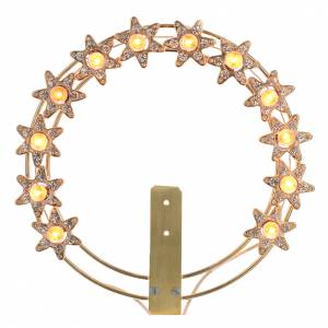 Luminous halo with lights and rhinestones s1