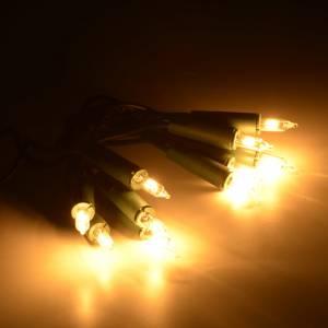 Luces de Navidad: Luz 10 bombillitos color blanco, cable verde