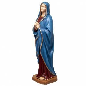 Madonna Addolorata 100 cm marmo sintetico colorato s4