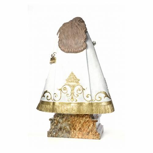 Madonna dei senza tetto 140 cm pasta di legno dec. elegante s3