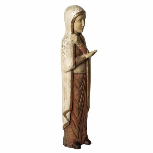 Madonna del calvario Batllo 78 cm legno finitura antica s2