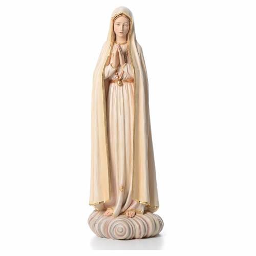 Madonna di Fatima 100 cm fibra di vetro colorata Valgardena s1