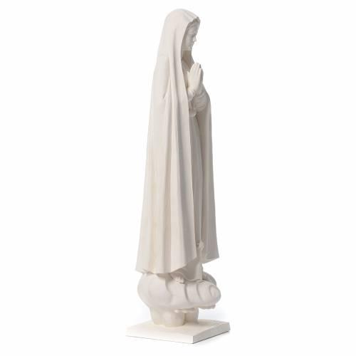 Madonna di Fatima 60 cm fiberglass naturale s4