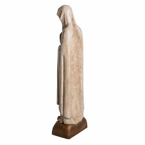 Madonna di Lourdes 76 cm pietra Bethléem s4