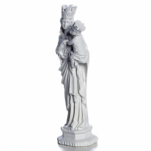 Madonna di Trapani 25 cm marmo bianco s2