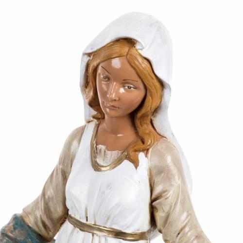 Madonna Immacolata 30 cm Fontanini tipo legno s3