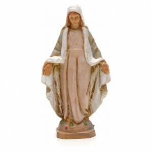 Statue in resina e PVC: Madonna immacolata 7 cm Fontanini