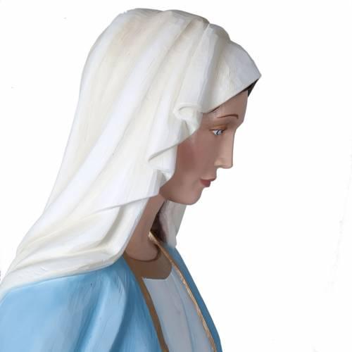 Madonna Miracolosa 160 cm vetroresina s4
