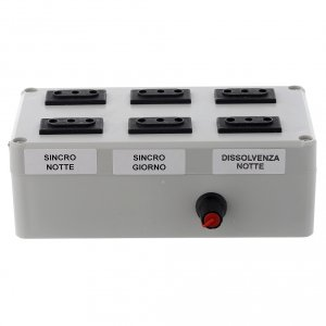 Control units and accessories for Nativity Scene: Maestro electric box 1000W 4+2