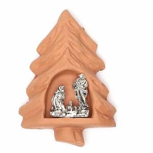 Magnet terracotta Tree s1