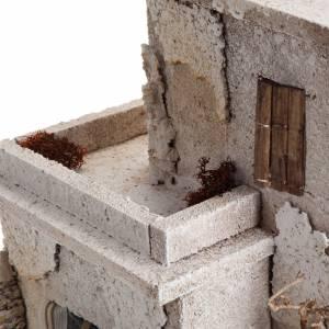 Maison arabe en miniature double pour crèche Noel s6