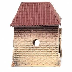 Maisonnette crèche rustique 23x20x13 cm s4