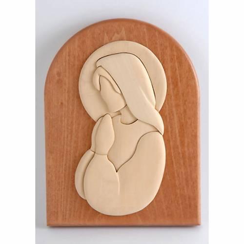 Quadretto Maria in preghiera Azur s1