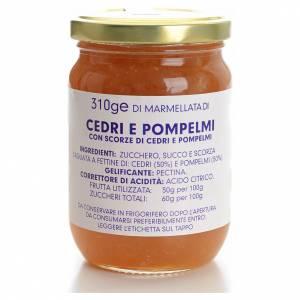 Konfitüren, Marmeladen: Marmelade Zeder und Grapefruit 310gr, Karmelitinnen