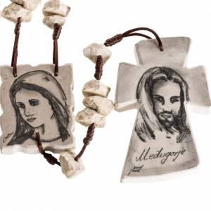 Rosaries and rosary holders: Mary and Jesus devotional chaplet