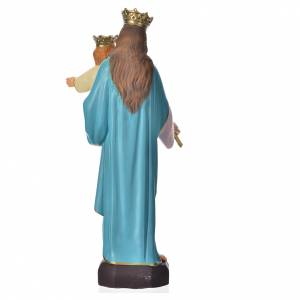 Holy Statues in resin & PVC: Mary Help of Christians 30cm, unbreakable material