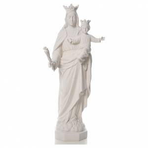 Mary Help of Christians statue in reconstituted marble, 100 cm s1