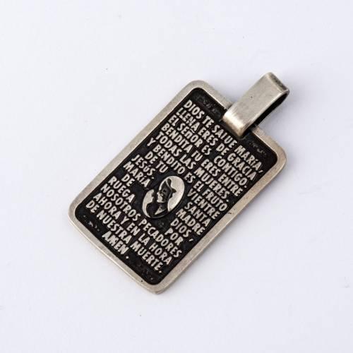 Médaille prière EsPAGNOL s2