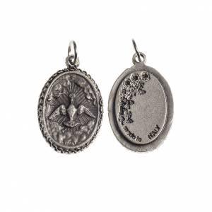 Médaille Saint esprit ovale bord décoré s1