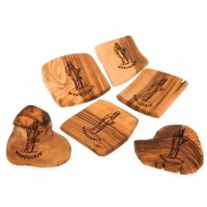 Medjugorje olive wood magnet s1
