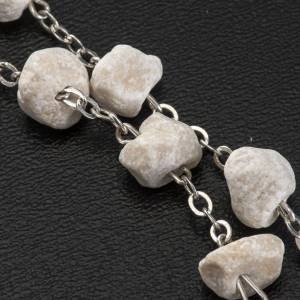 Medjugorje one-decade rosary, stone and chain s3