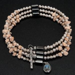 Medjugorje rosary bracelet stone beads s4