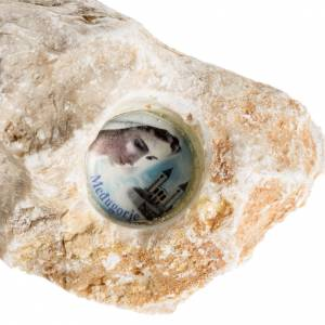 Medjugorje stone with image s4