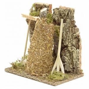 Meule en miniature pour crèche de Noel s2