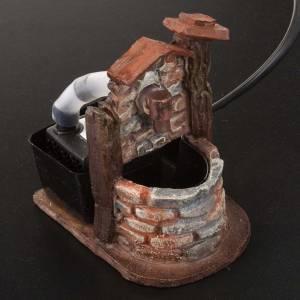 Mini fontaine crèche noël 10x6x8.5 s2