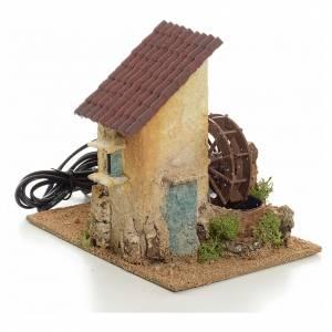 Mini moulin à eau électrique 20x15x20 cm s1