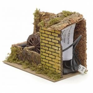 Mini moulin à eau électrique 25x14x20 cm s3
