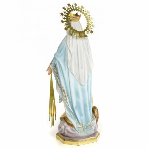 Miraculous Madonna 60cm, wood paste, superior decoration s3