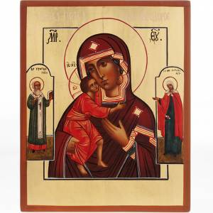 Russian hand-painted icons: Mother of God Vladimir