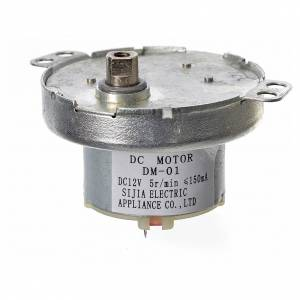 Moto-réducteur pour crèche MCC5 12V DC s3